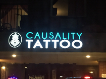 Causality Tattoo electrical work