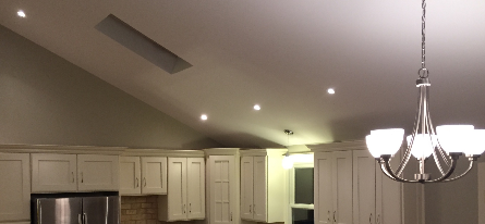 Kitchen lighting by Avila Electrical